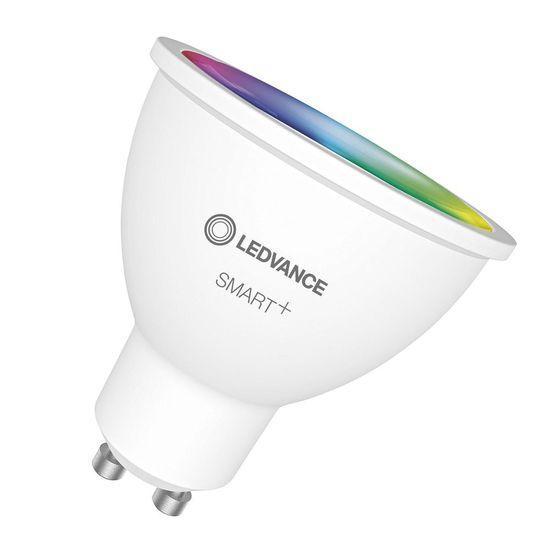 Лампа с управлением по WiFi LED MR16 GU10 5Вт (350Лм) RGB 230В диммируемая OSRAM