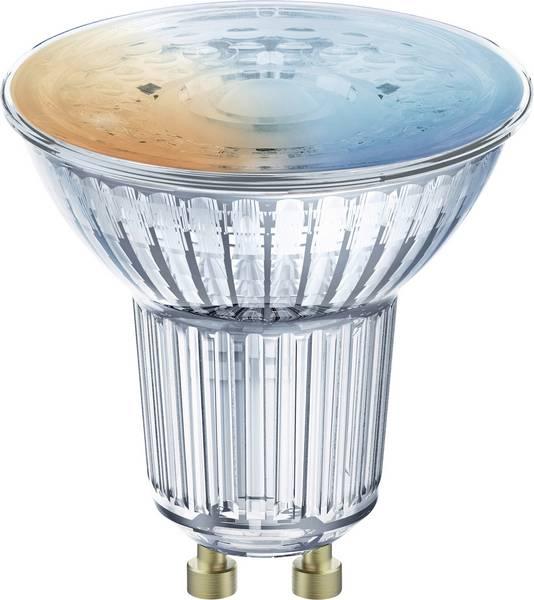 Лампа с управлением по WiFi LED MR16 GU10 5Вт (350Лм) 2700К..6500К 230В диммируемая OSRAM
